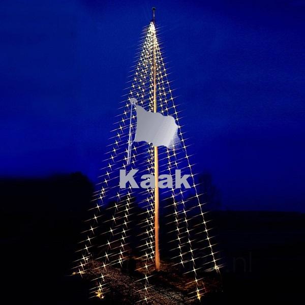 led fahnenmast lichterkette 6 7 meter
